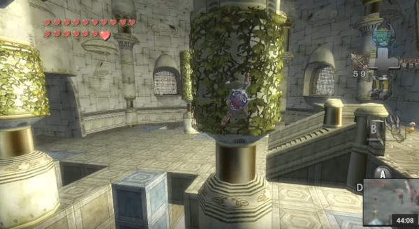 City in the Sky - Zelda - Twilight Princess - Screenshot 1