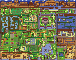 Links Awakening Map
