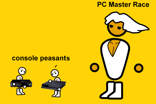 PCMR - PC Gaming Master Race